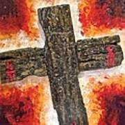 Old Rugged Cross Art Print