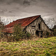 Old Rustic Barn Art Print