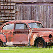 Old Rusty Car Art Print