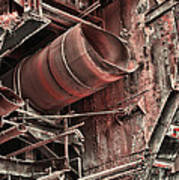 Old Rusty Pipes Art Print