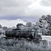 Old Rusty Tanker 3 Art Print