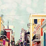 Old San Juan Special Request Art Print