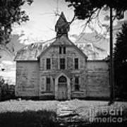 Old School House Art Print