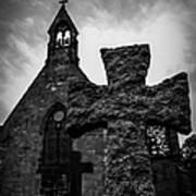 Old Scottish Church 2 Art Print