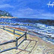Old Silver Beach Art Print