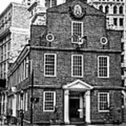 Old State House In Boston Art Print