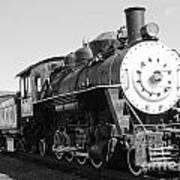 Old Steam Engine Art Print