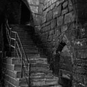 Old Steps In Chester England Art Print