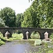 Old Stone Arch Bridge Art Print