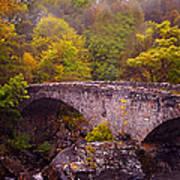 Old Stone Bridge. Scotland Art Print