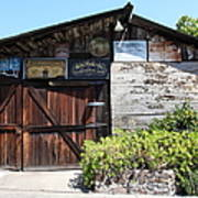 Old Storage Shed At The Swiss Hotel Sonoma California 5d24458 Art Print by Wingsdomain Art and Photography