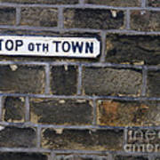 Old Street Sign Art Print