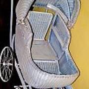 Old Stroller Art Print