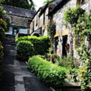 Old Terrace Houses - Peak District - England Art Print