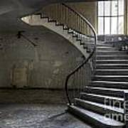 Old Theater Stairs Art Print