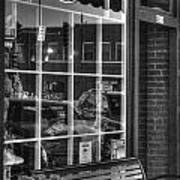 Old Time Barber Shop Art Print