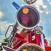Old Time Fire Truck Series Art Print by Kelly Kitchens
