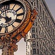 Old Time - Nyc Art Print by Linda  Parker