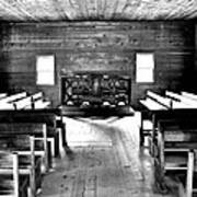 Old Time Religion -- Cades Cove Primitive Baptist Church Art Print by Stephen Stookey