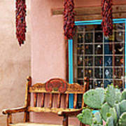 Old Town Albuquerque Shop Window Art Print