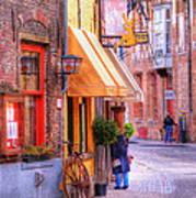 Old Town Bruges Belgium Art Print
