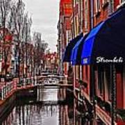 Old Town Delft Art Print