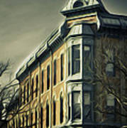 Old Town Fort Collins Art Print