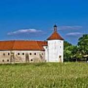 Old Town Fortress In Durdevac Croatia Art Print