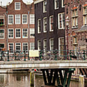 Old Town In Amsterdam Art Print