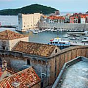 Old Town Of Dubrovnik Art Print