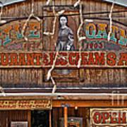 Old Town Saloon Art Print