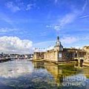Old Town Walls Concarneau Brittany Art Print