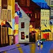 Old Towne Quebec Art Print
