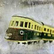 Old Toy-train Art Print