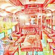 Old Train 2 Art Print