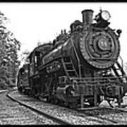 Old Trains Art Print