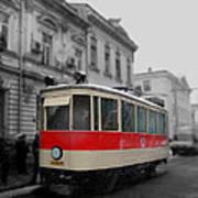 Old Tram Art Print