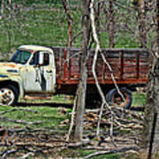 Old Truck At Rest Art Print
