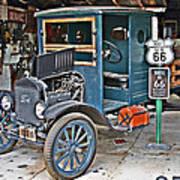 Old Tyme Auto Shop Art Print