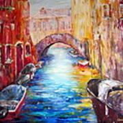 Old Venice Art Print