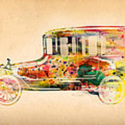 Old Volkswagen3 Art Print