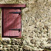 Old Wall And Door Art Print