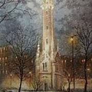 Old Water Tower Milwaukee Art Print
