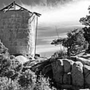 Old Water Tower Art Print