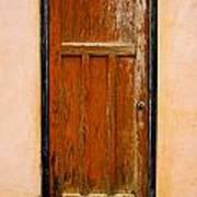 Old Weathered Door Art Print