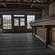Old West Saloon Bar -- Bannack Ghost Town Montana Art Print