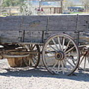 Old Western Wagon Art Print