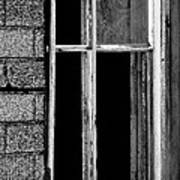 Old Window 2  Art Print