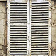 Old Window Print by Elena Elisseeva
