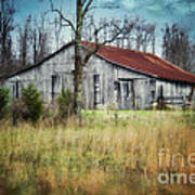 Old Wooden Barn Art Print